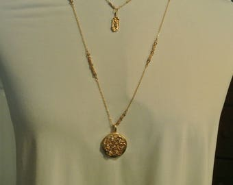 Two Layer Necklace with Locket