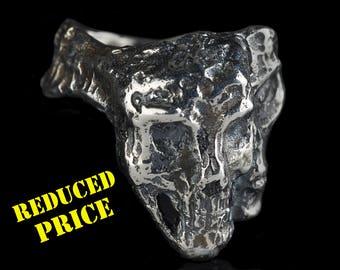 EVIL TWINS - Silver Skull Ring