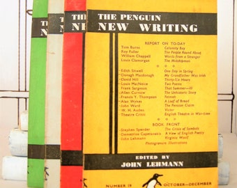 The Penguin New Writing Four Book Set: Volume 19, 23, 24, and 25 (Vintage)