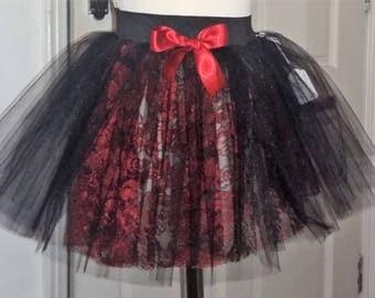 Tiny Tulle Skirt