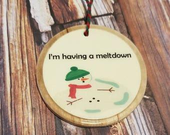 Funny christmas gifts , funny christmas ornaments,  ornament , ornaments,  wood ornaments,  holiday cards , Christmas card,  funny gift tags