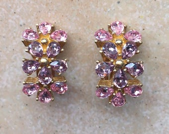 Christian Dior Flower Earrings/Ohrringe