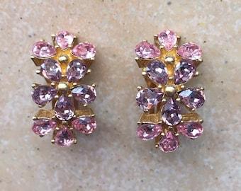 Christian Dior Flower Earrings/Ohrringe