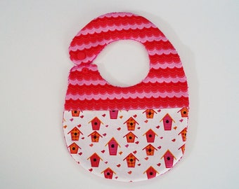 bib original baby girl pink