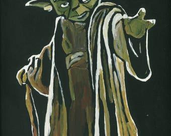 Yoda Print