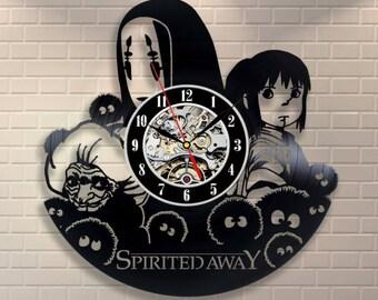 Anime Clock Etsy