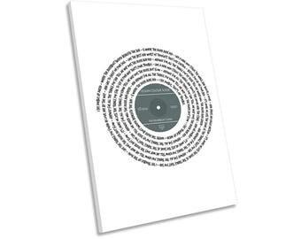 Ocean Colour Scene Riverboat Song Lyrics Vinyl CANVAS WALL ART Picture Print
