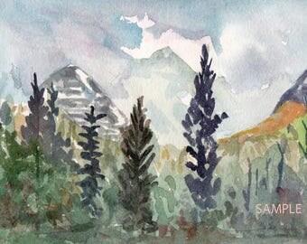 Glacier National Park, MT 8x10 print