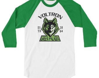 Voltron pidge 3/4 sleeve raglan shirt