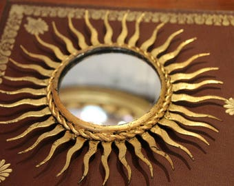 french vintage sunburst mirror sun mirror small vintage sunburst mirror french vintage mirror