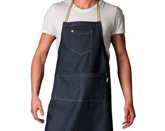 Denim apron