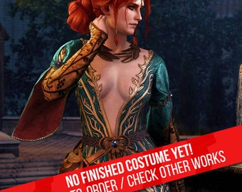 COME SOON Triss Merigold alternate outfit from Witcher 3