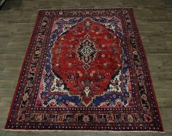 Wonderful Handmade Unique Tribal Hamedan Persian Area Rug Oriental Carpet 7X10
