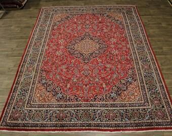 9X13 Delightful Rare Plush Kashmar Persian Rug Oriental Area Carpet 9'4X12'9