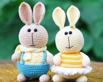 Amigurumi Crochet PDF Pattern - Hare.