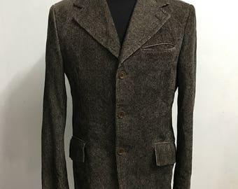 Vtg Mediterranea Coats made in italy size 48