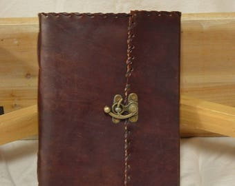 Beautiful Leather Journal or Sketchbook
