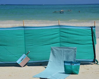 Kikoy Cotton Windbreak - Ipanema Green