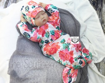Baby Girl Gown,Baby Girl Coming Home Outfit,Baby,Newborn Girl Coming Home Outfit,Coming Home Outfit,Coming Home Outfit Baby Girl,Newborn