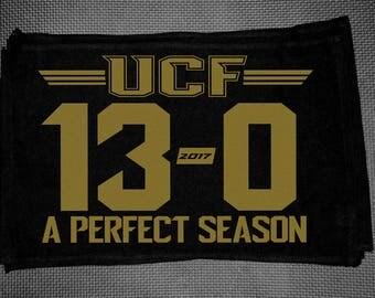 UCF Perfect 13-0 Season Spirit Towel, University of Central Florida, UCF Knights