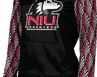 ProSphere Girls' Northern Illinois University Deco Pullover Hoodie (NIU)