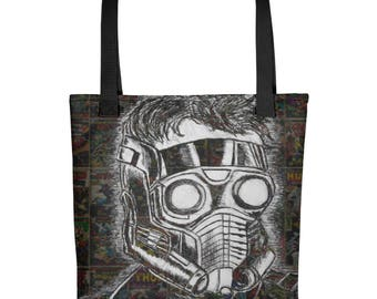 Guardians Of The Galaxy Star Lord Tote bag
