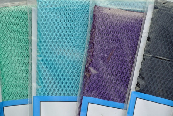 Lightweight Mesh Fabric Pocket See Through Bags Purses