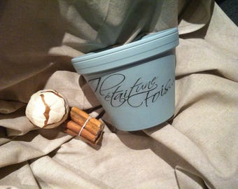 Terra cotta flower pot