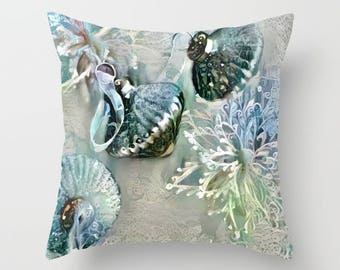 Silver Pillow, Throw Pillow Cover, Christmas Pillow, Xmas Pillow, Winter Pillow, Christmas Decor, Xmas Decor, Shabby Chic, French Country