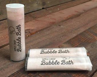Apple Crisp Handmade Bubble Baths - 3 Tubes