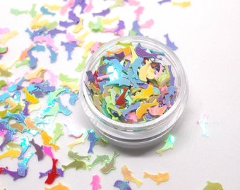 Glitter color AB - high quality - for any Dolphin hobby