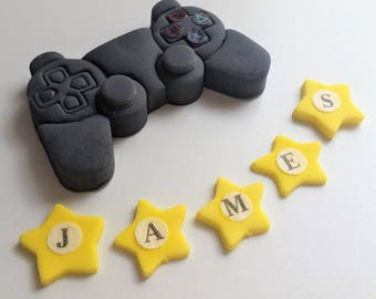playstation cake toppers edible personalised decoration