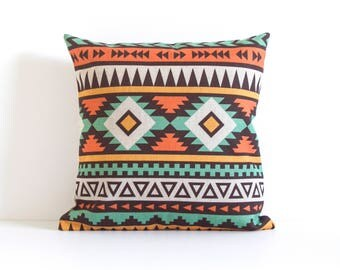 Boho Pillow Cover, Bohemia Pattern Pillow Cover, Pillow Covers, Throw Pillow, Boho Cushion Cover, Decorative Pillow Cover