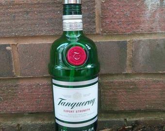 Tanqueray gin bottle soap dispenser.