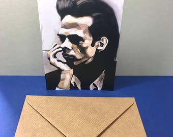Nick Cave Greetings Card With Envelope