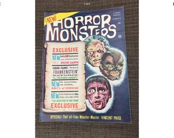 Horror Monsters vol 10 Vincent Price 1960's