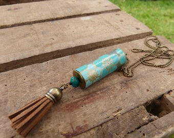 Greenpeace paper Bead Necklace