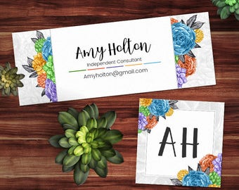 Rodan and Fields Facebook Cover, RF FB Cover + Avatar, Rodan and Fields Facebook Set, RF Facebook Banner, Succulents Collection