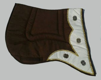 Handmade Saddle pad Baroque