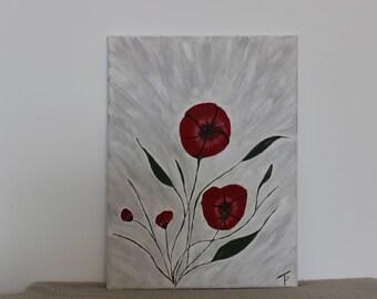 contemporary art on acrylic paint
