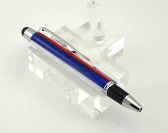 Stylus Pen, Short Pen, Red, White, Blue, Acrylic, Cute Pen, Ballpoint Pen, Gift for Mom, Mother's Day Gift, Gift for Her, Sister Gift