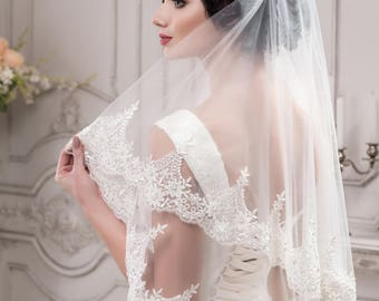 Wedding Veil  ''Molly''  On SALE!  20% off with code NYBRIDEJUN