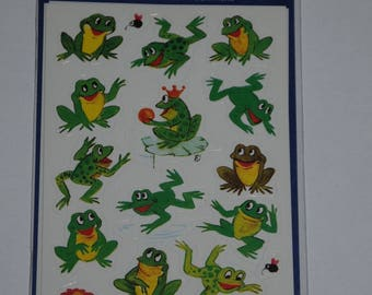 "three planks stickers themes ""frogs"""