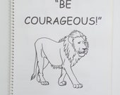6-13yo Regional Convention 2018 Be Courageous JW Notebook for kids