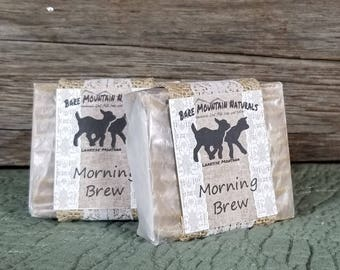 Morning Brew All Natural Goat Milk Soap