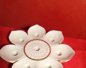 Vintage Lenox flower shaped candle holder