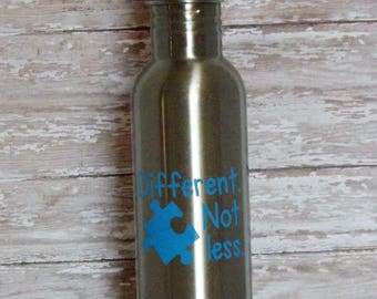Autism Awareness SPORTS BOTTLE Stainless Steel 24 oz