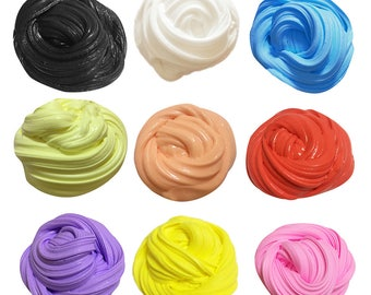 Fluffy Foam Slime Scented Play Dough Kids Stress Relief Sludge Toy Cotton Mud Plasticine Modeling Clay Gift