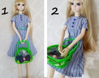 BJD, MSD, Doll outfit, Doll clothes, Doll dress.bjd dress with belt