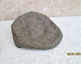 Vintage Scottish Hat, wool caps, Scotland items, winter hats, warm clothing